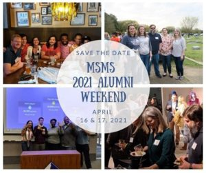 MSMS Alumni Weekend