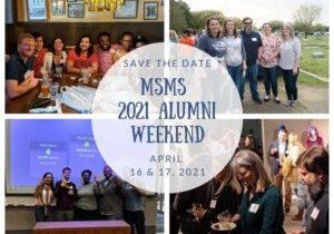 MSMS Alumni Weekend